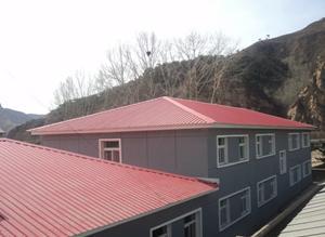 四坡五脊屋面造型